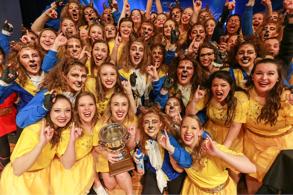Belles of the Ball: Iota wins first Spring Sing crown